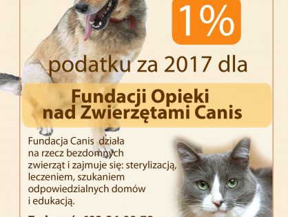 1% podatku za 2017