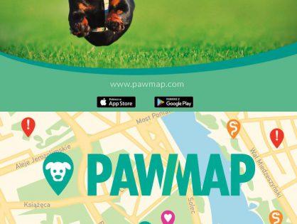 PAWMAP to bezpłatna aplikacja dla opiekunów psów