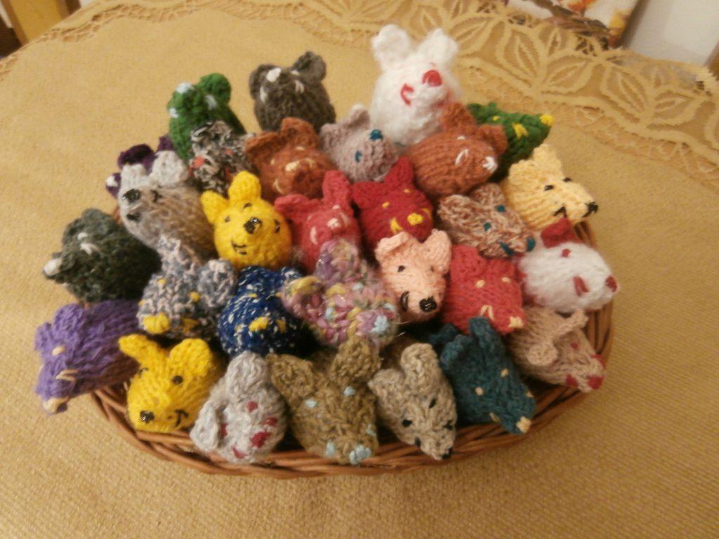 Nowe produkty w naszym sklepiku – wełniane myszki  dla kota