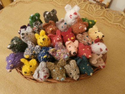 Nowe produkty w naszym sklepiku - wełniane myszki  dla kota
